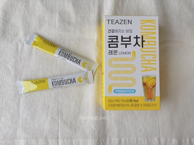 BTSジョングクがダイエットの為に飲んでいるコンブチャレモン